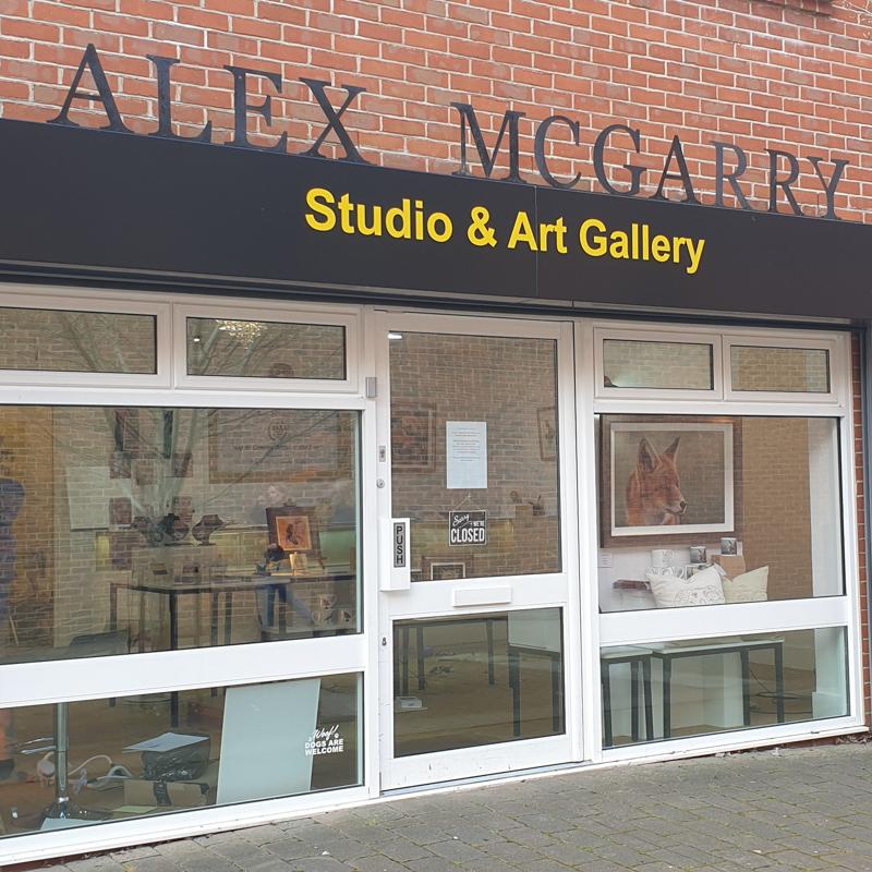 ALEX MCGARRY STUDIO & ART GALLERY